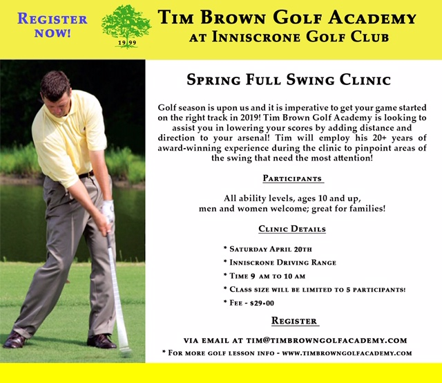 Tim Brown Spring Clinic 2019 150 dpi